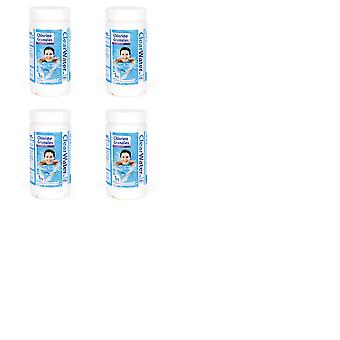 Clearwater 1kg Chlorine Granules Bundle of 4 for Swimming Pool - 4kg