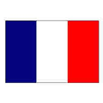 France Flag 5ft x 3ft with eyelets for hanging