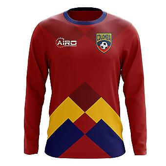 2020-2021 Colombia Long Sleeve Away Concept Football Shirt