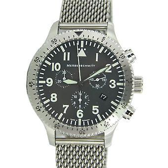 Aristo Messerschmitt Men's clock Chrono Pilots Watch ME 5030M / 5030M