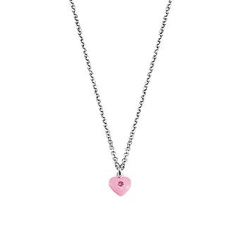Scout Kinder Halskette Kette Silber Herz rosa Girls 261103200