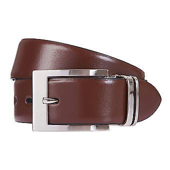 LLOYD bälte bälten mäns bälten läder bälte brunt/konjak 6833