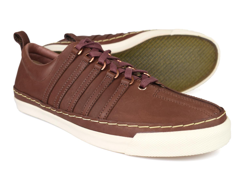 K-Swiss Arlington VT Brown Mens Leather