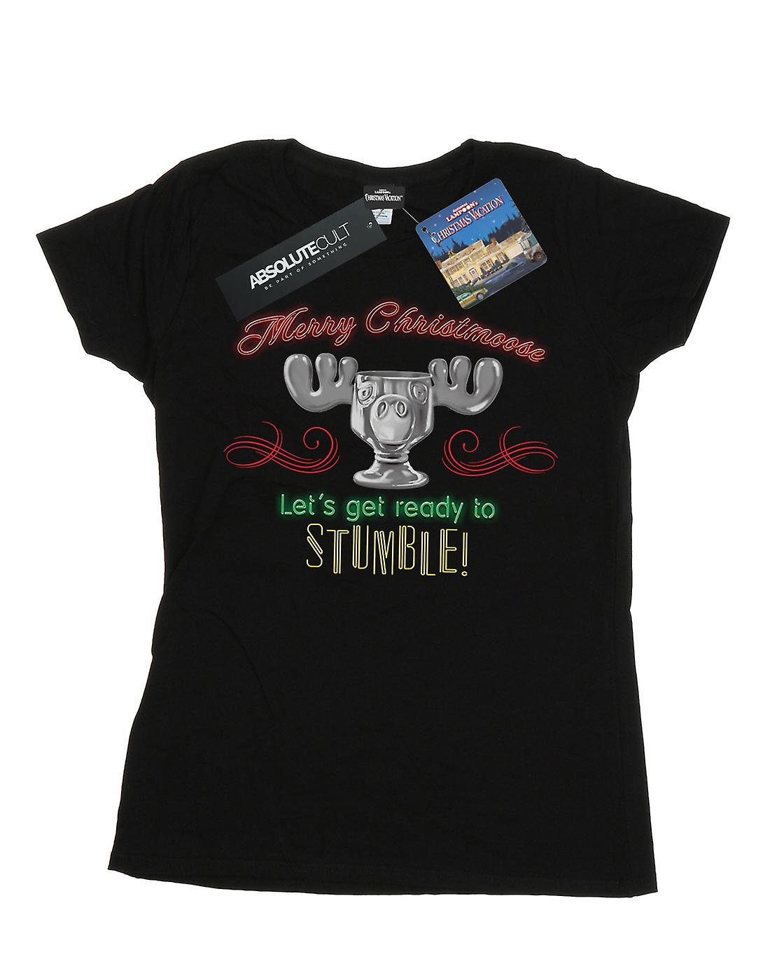 National Lampoon's Christmas Vacation Women's Moose Head T