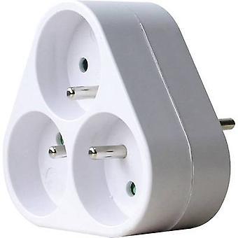 GAO DG-ZFB01/03A 3 x Socket splitter wit