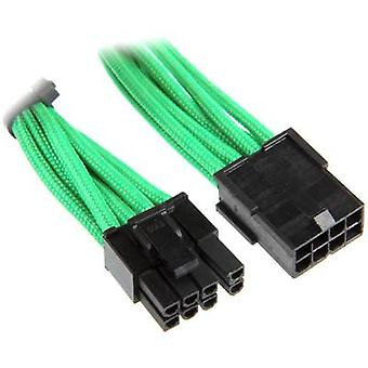 Bitfenix הרחבת כבל הנוכחי [1x PCI-E תקע 8 פינים (6 + 2)-1x PCI-E תקע 8-pin] 45.00 ס מ ירוק, שחור