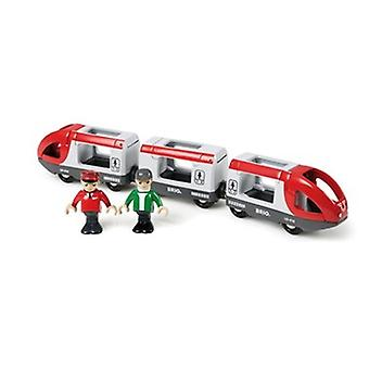 BRIO Travel Train Red 33505 for Wooden Railway