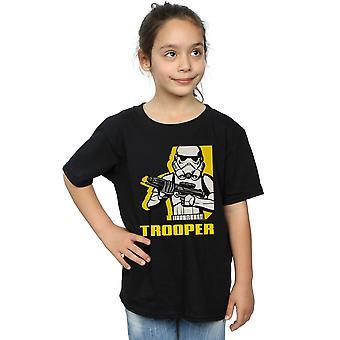 Star Wars Girls kapinallisten Trooper t-paita