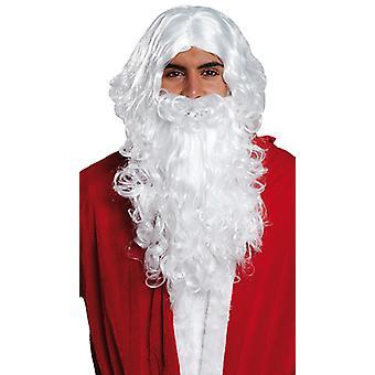 Santa Claus set parrucca