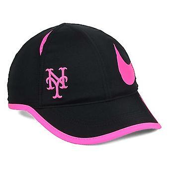 ניו יורק מטס MLB ניקה משקל נוצה Aerobill כובע מתכוונן