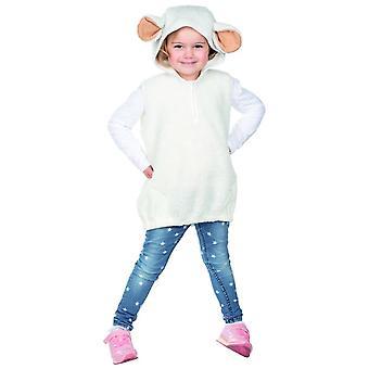 Schaap kostuum unisex Kids carnaval lam boerderij dieren kostuum schaap lam