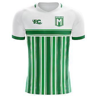 2018-2019 Atletico Nacional Fans kultur Hem Concept skjorta