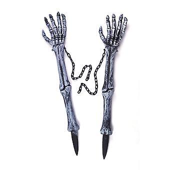 Bnov Skelett-Hand-Rasen-Einsätze
