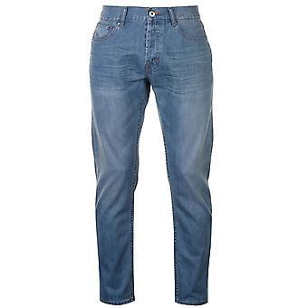 Firetrap Mens Rom Jeans Casual katoen broek broek iets Distressed Look