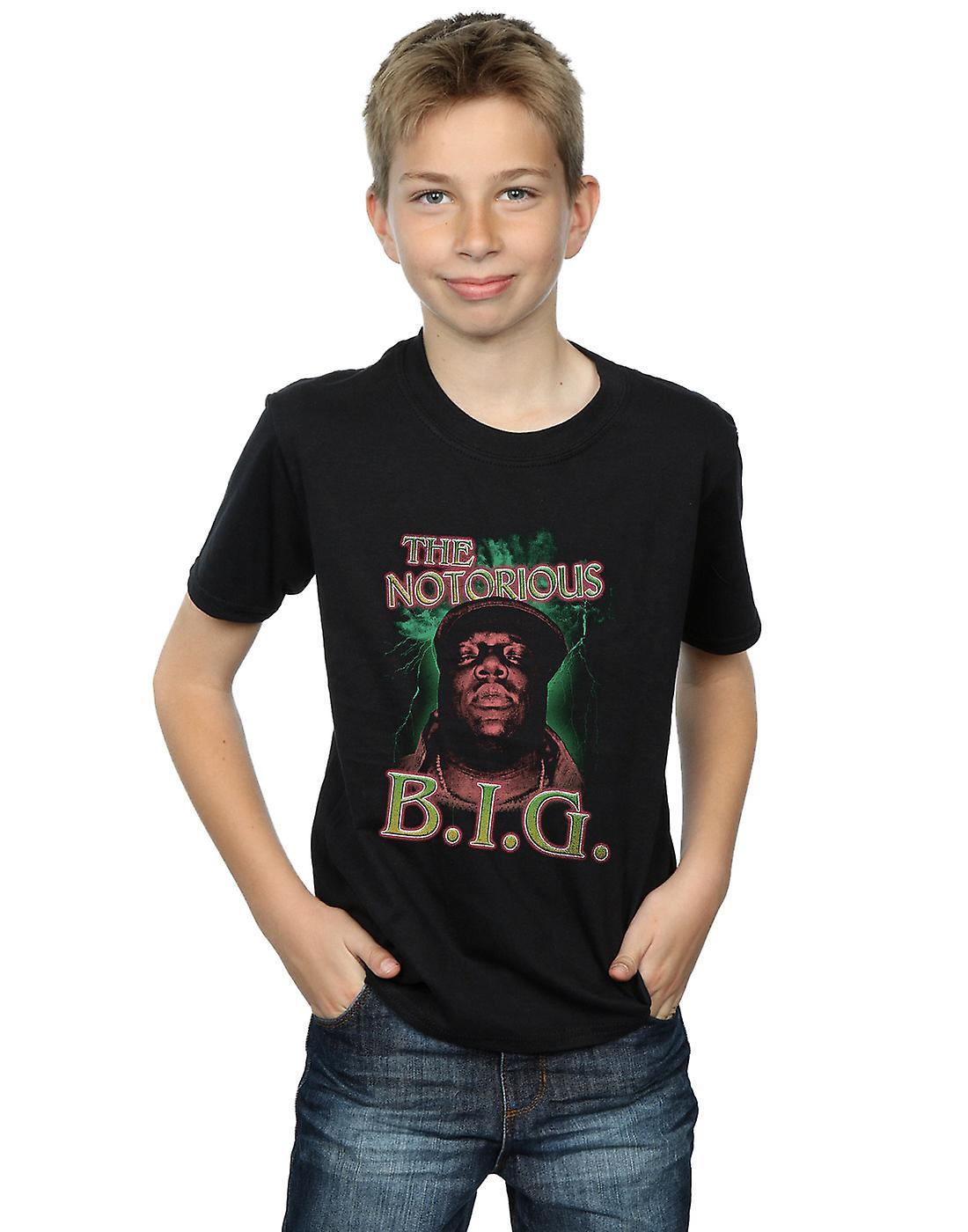 Notorious BIG Boys Green Lightning T-Shirt