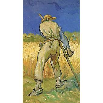 The Reaper,Vincent Van Gogh,43.5x25cm