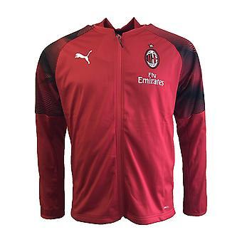 2018-2019 AC Milan Puma Poly trening jakke (rød)
