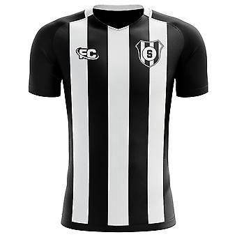 2018-2019 Santos Fans kultur bort konceptet skjorta