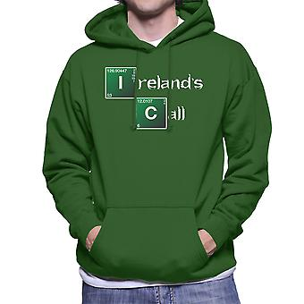 Breaking Bad Irelands Call Logo Men's Hooded Sweatshirt