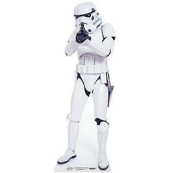 Stormtrooper Star Wars Levensgrote Kartonnen Uitsnede / Standee