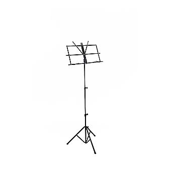 WorldOfMusic Professional Folding Music Stand Sheet Holder - Portable, Foldable & Fully Adjustable - Suitable for Home Studio Gig Performance Teaching - Brass Woodwind Percussion Strings Instruments