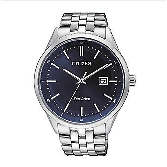 Citizen-quartz with analog Display stainless steel strap and silver-7251-53L BM