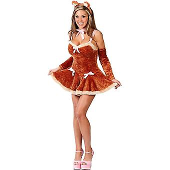 Cute Teddy Adult Costume
