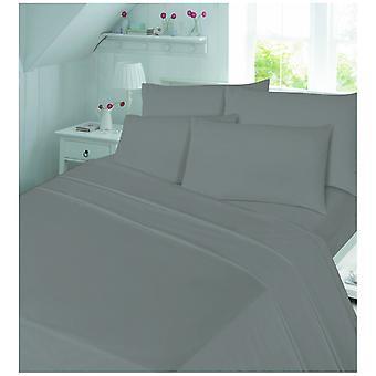 Børstet bomuld Flannelette Baby Cot Quilt dynebetræk & pudebetræk, sengetøj sæt