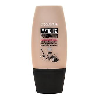 Beauty UK matte FX Foundation-nr. 2 naturel