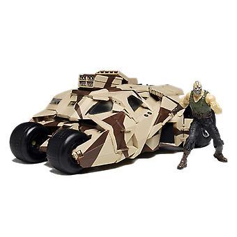 Dark Knight gepanzerte Tumbler-Modell-Bausatz mit Bane Figur