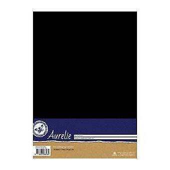 Aurelie Stamping Cardstock Black (AUSP1036)