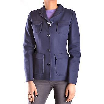 Geospirit Ezbc203033 Women's Blue Wool Blazer