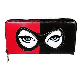 Harley Quinn Masked Menace Large Purse
