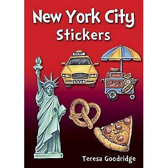 New York City Stickers by Teresa Goodridge - 9780486810911 Book