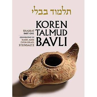 Shabbat - Pt. 1 by Adin Even-Israel Steinsaltz - 9789653015647 Book