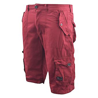 Heren arcering chinos lading shorts jeans Combat 3/4 knie lengte Mayfield