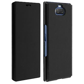 Bigben Sony Xperia 10 Folio Flip Wallet Made for Xperia Case - Black