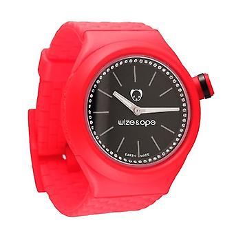 Wize and Ope Club  Red Shuttle Watch SH-CL-3S