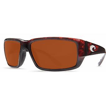 Costa Del Mar Fantail polarizzati Tortoise uomini occhiali da sole TF-10-OCGLP