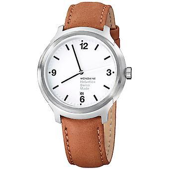 Arkipäiväinen Helvetica No1-MH1. B1210. LG-rohkea Mens Watch