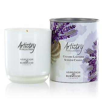 Artistry Collection Scented Candle Jar Medium 200g Country Lavender