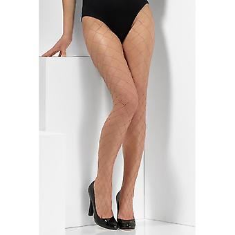 Pink Diamond Net Tights, Fever Hosiery, Royaume-Uni Taille 6-18