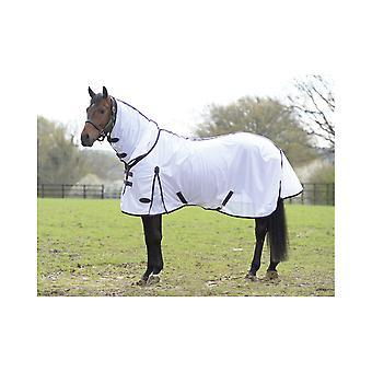 Weatherbeeta Comfitec Essential Mesh Combo Neck - Blanc/violet/noir