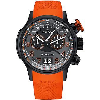 Edox 38001 TINNO3 NO3 Chronorally Heren Horloge