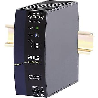 PULS Piano Rail mounted PSU (DIN) 24 V 10 A 240 W 1 x