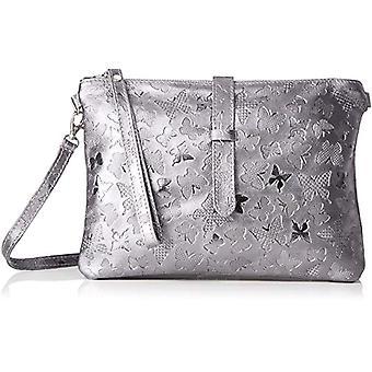 Good Bags 1544 HandbagS Women Grey (Ferro) 25x16x7 cm (W x H x L)