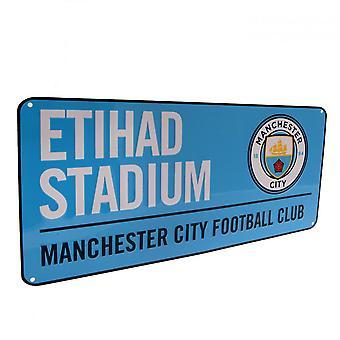 Manchester City FC straatnaambord
