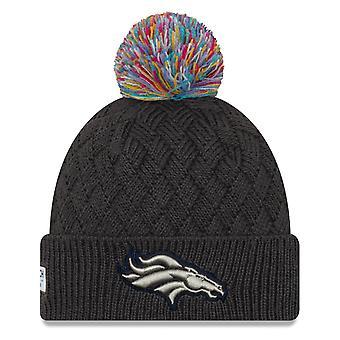 New Era Women's Knit Hat - CRUCIAL CATCH Denver Broncos