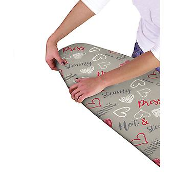 Country Club Ironing Board Cover, Sketch Hearts