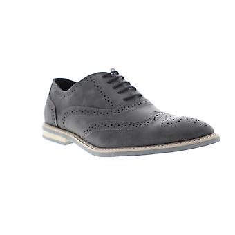 Unlisted by Kenneth Cole Joss Oxford Mens Gray Casual Lace Up Oxfords Shoes